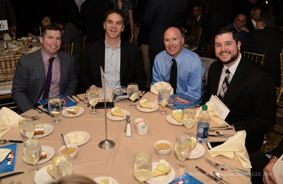 LA Kings crew--Southern California Sports Broadcasters Luncheon Monday, January 25, 2016 at Lakeside Country Club in Burbank,CA. Photo by Jon SooHoo/ © Los Angeles Dodgers,LLC 2016