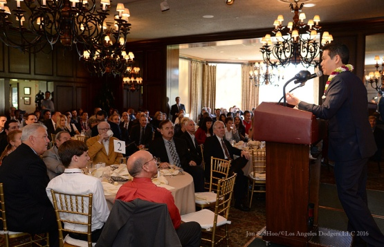 Southern California Sports Broadcasters Luncheon Monday, January 25, 2016 at Lakeside Country Club in Burbank,CA. Photo by Jon SooHoo/ © Los Angeles Dodgers,LLC 2016