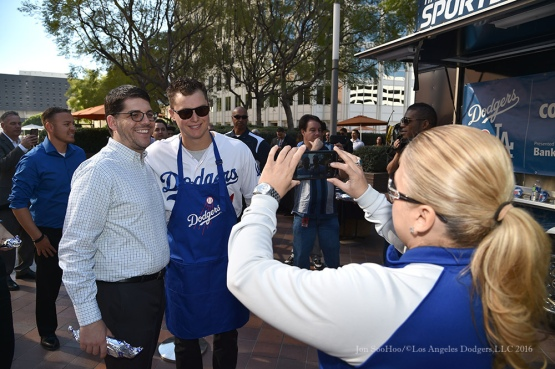 Los Angeles Dodgers Love LA Tour at 7th and Figueroa in Los Angeles, California Thursday, January 28, 2016. Photo by Jon SooHoo/©Los Angeles Dodgers,LLC 2016