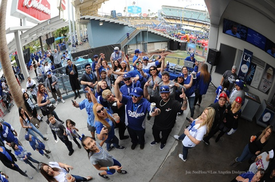 Los Angeles Dodgers Fanfest Saturday, January 30, 2016. Photo by Jon SooHoo/©Los Angeles Dodgers,LLC 2016