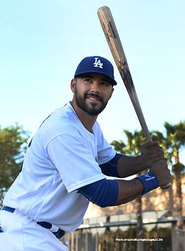 Los Angeles Dodgers Andre Ethier during photo day  Saturday, February 27, 2016 at Camelback Ranch-Glendale in Phoenix, Arizona.