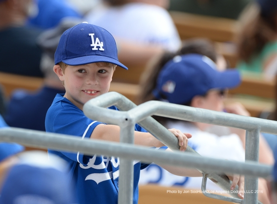 Los Angeles Dodgers during game against the Arizona Diamondbacks  Saturday, March 5, 2016 at Camelback Ranch-Glendale in Phoenix, Arizona.