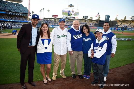 Los Angeles Dodgers during game against the Arizona Diamondbacks Wednesday, April 13, 2016 at Dodger Stadium.