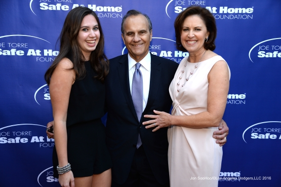 Joe Torre's Safe at Home Foundation's All Star Evening Thursday, April 28, 2016 at the Hotel Bel Air in Bel Air, California