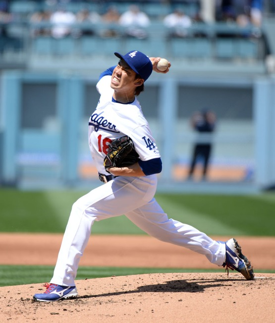 Pitcher Kenta Maeda makes the start for the Dodgers against the Arizona Diamondbacks. Jill Weisleder/LA Dodgers