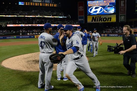 Los Angeles Dodgers beat the New York Mets 4-2 Sunday, May 29, 2016 at Citi Field. Photo by Jon SooHoo/© Los Angeles Dodgers,LLC 2016