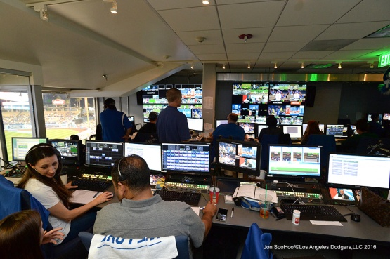 Diamondvision during Los Angeles Dodgers game against the New York Mets Thursday, May 12, 2016 at Dodger Stadium in Los Angeles,California.  Jon SooHoo/©Los Angeles Dodgers,LLC 2016