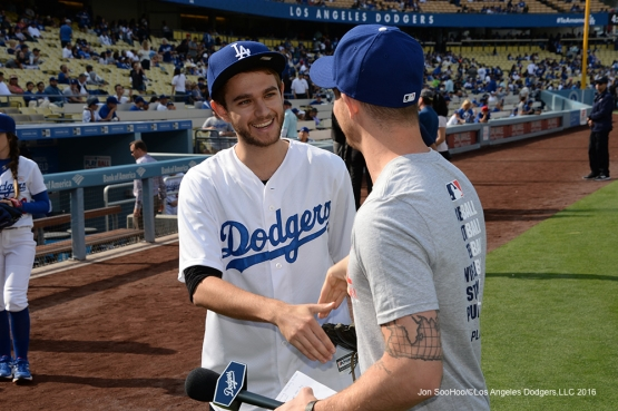 Zedd at the Los Angeles Dodgers game against the St. Louis Cardinals Sunday, May 15, 2016 at Dodger Stadium in Los Angeles, California.  Jon SooHoo/©Los Angeles Dodgers,LLC 2016