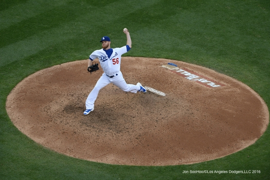 Los Angeles Dodgers J.P. Howell against the St. Louis Cardinals Sunday, May 15, 2016 at Dodger Stadium in Los Angeles, California.  Jon SooHoo/©Los Angeles Dodgers,LLC 2016