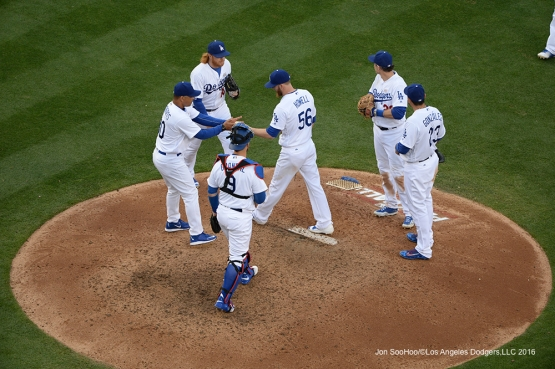 Los Angeles Dodgers against the St. Louis Cardinals Sunday, May 15, 2016 at Dodger Stadium in Los Angeles, California.  Jon SooHoo/©Los Angeles Dodgers,LLC 2016
