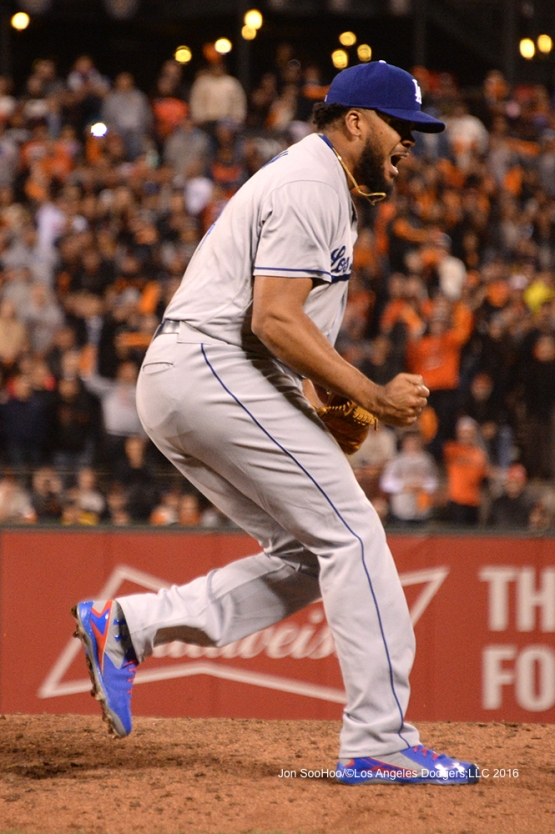 Los Angeles Dodgers against the San Francisco Giants Friday, June 10, 2016 at AT&T Park in San Francisco, California. Photo by Jon SooHoo/© Los Angeles Dodgers,LLC 2016