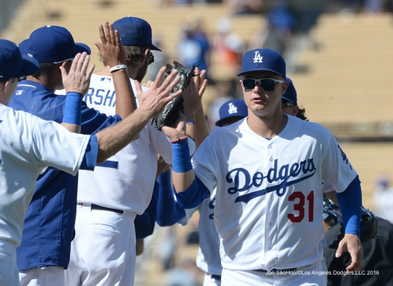 Los Angeles Dodgers win against the Atlanta Braves Sunday, June 5, 2016 at Dodger Stadium in Los Angeles,California. Photo by Jon SooHoo/© Los Angeles Dodgers,LLC 2016