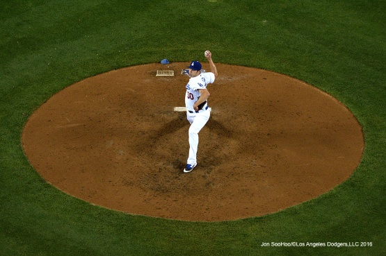 Los Angeles Dodgers Casey Fien pitches against the Colorado Rockies Wednesday, June 8, 2016 at Dodger Stadium in Los Angeles,California. Photo by Jon SooHoo/© Los Angeles Dodgers,LLC 2016