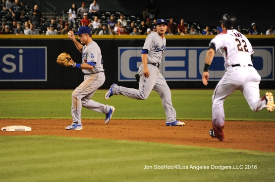 Los Angeles Dodgers against the Arizona Diamondbacks Monday, June 13, 2016 at Chase Field in Phoenix, Arizona. Photo by Jon SooHoo/© Los Angeles Dodgers,LLC 2016