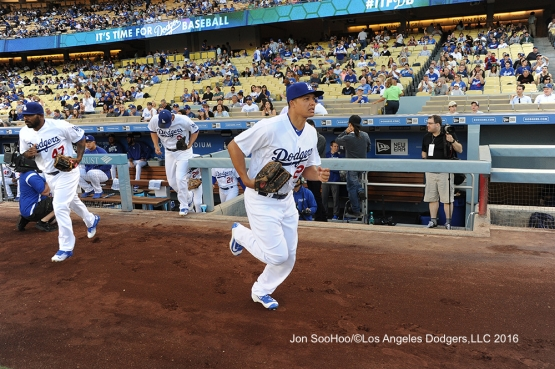 Will Venable during game against the Milwaukee Brewers Thursday, June 16, 2016 at Dodger Stadium. Photo by Jon SooHoo
