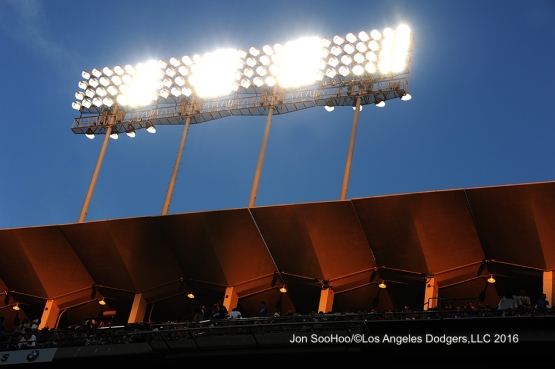 Los Angeles Dodgers against the Milwaukee Brewers Friday, June 17, 2016 at Dodger Stadium. Photo by Jon SooHoo