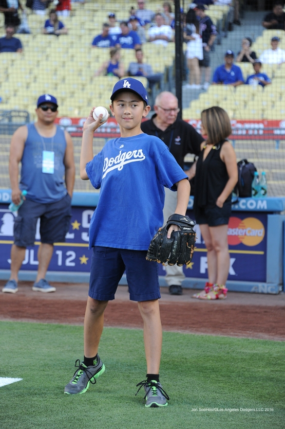 Los Angeles Dodgers against the Washington Nationals Monday, June 20,2016 at Dodger Stadium. Photo by Jon SooHoo/©Los Angeles Dodgers,LLC 2016