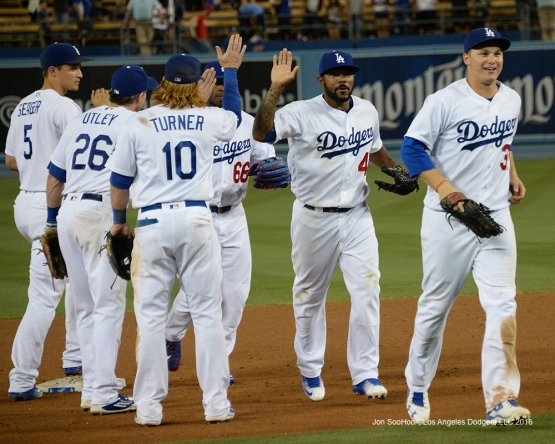 Los Angeles Dodgers against the Washington Nationals Tuesday, June 21,2016 at Dodger Stadium. Photo by Jon SooHoo/©Los Angeles Dodgers,LLC 2016