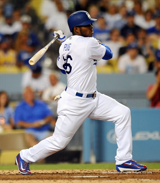 Yasiel Puig returned to the starting line up.
