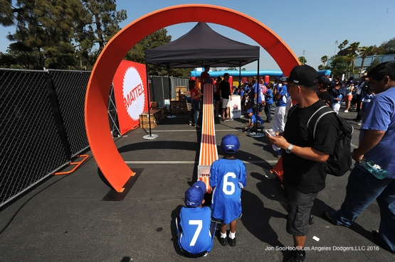 Los Angeles Dodgers RBI Playerfest Saturday, June 25, 2016 at Dodger Stadium. Photo by Jon SooHoo/ ©Los Angeles Dodgers,LLC 2016