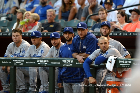Los Angeles Dodgers against the Arizona Diamondbacks Tuesday, June 14, 2016 at Chase Field in Phoenix, Arizona. Photo by Jon SooHoo/© Los Angeles Dodgers,LLC 2016