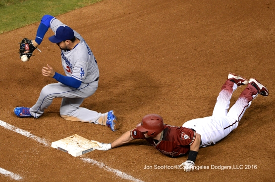 Los Angeles Dodgers against the Arizona Diamondbacks Wednesday, June 15, 2016 at Chase Field in Phoenix, Arizona. Photo by Jon SooHoo/© Los Angeles Dodgers,LLC 2016