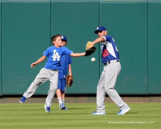 Los Angeles Dodgers during game against the St. Louis Cardinals at Busch Stadium Friday, July 22, 2016 in St.Louis, Missouri.  Photo by Jon SooHoo/©Los Angeles Dodgers,LLC 2016