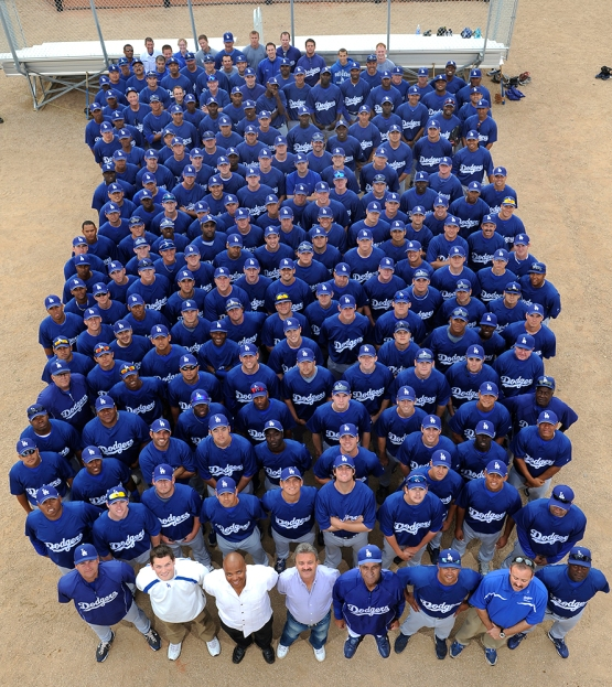 Los Angeles Dodgers Minor league group shot Friday March 20, 2009 at Camelback Ranch - Glendale. Jon SooHoo/LA Dodgers 2009