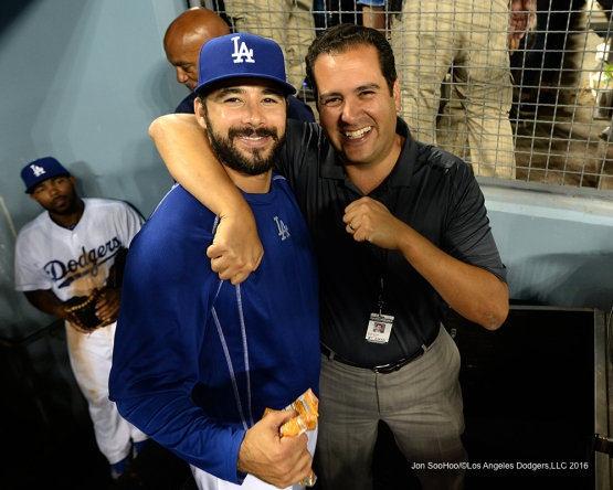 Los Angeles Dodgers Andre Ethier during game against the Colorado Rockies Friday, July 1, 2016 at Dodger Stadium in Los Angeles, California. Photo by Jon SooHoo/©Los Angeles Dodgers,LLC 2016