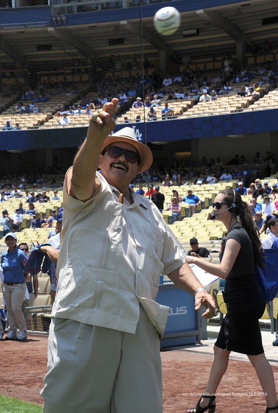 Mike Brito--Los Angeles Dodgers during game against the Colorado Rockes Sunday, July 3, 2016 at Dodger Stadium in Los Angeles, California. Photo by Jon SooHoo/©Los Angeles Dodgers,LLC 2016
