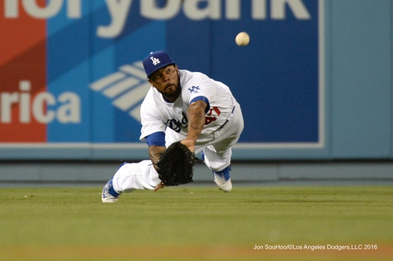 Howie Kendrick--Los Angeles Dodgers during game against the Baltimore Orioles Tuesday, July 5, 2016 at Dodger Stadium in Los Angeles, California. Photo by Jon SooHoo/©Los Angeles Dodgers,LLC 2016