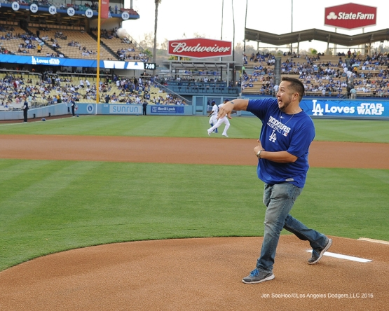 Star Wars Night prior to game against the Arizona Diamondbacks Friday, July 29,2016 at Dodger Stadium in Los Angeles,California. Photo by Jon SooHoo/©Los Angeles Dodgers,LLC 2016