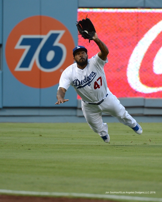 Los Angeles Dodgers Howie Kendrick during game against the Arizona Diamondbacks Friday, July 29,2016 at Dodger Stadium in Los Angeles,California. Photo by Jon SooHoo/©Los Angeles Dodgers,LLC 2016