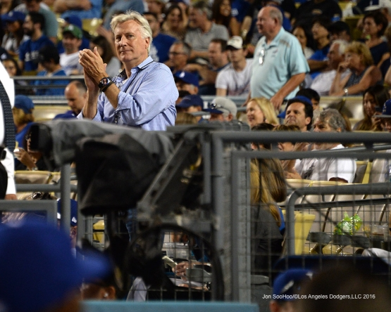 Los Angeles Dodgers Mark Walter during game against the Arizona Diamondbacks Friday, July 29,2016 at Dodger Stadium in Los Angeles,California. Photo by Jon SooHoo/©Los Angeles Dodgers,LLC 2016