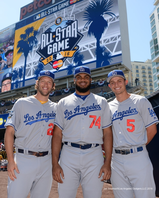 Los Angeles Dodgers at All Star Tuesday, July 12, 2016 at Petco Park in San Diego,California. Photo by Jon SooHoo/©Los Angeles Dodgers,LLC 2016