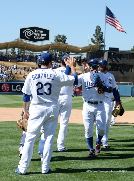The Dodgers sweep the Colorado Rockies 4-1. Jill Weisleder/Dodgers