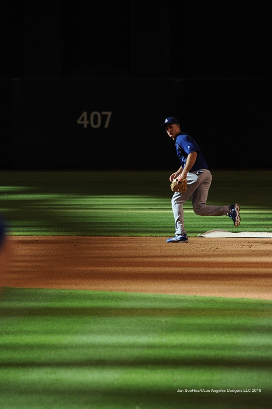 Los Angeles Dodgers during game against the Arizona Diamondbacks Friday, July 15, 2016 at Chase Field in Phoenix, Arizona. Photo by Jon SooHoo/©Los Angeles Dodgers,LLC 2016