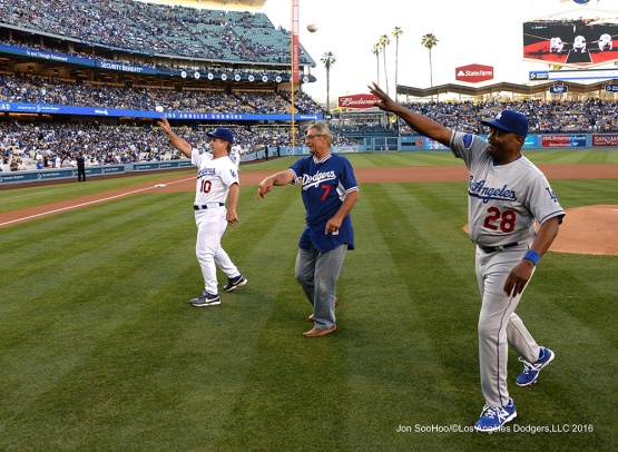 Los Angeles Dodgers Oldtimers Day Saturday, July 2, 2016 at Dodger Stadium in Los Angeles, California. Photo by Jon SooHoo/©Los Angeles Dodgers,LLC 2016