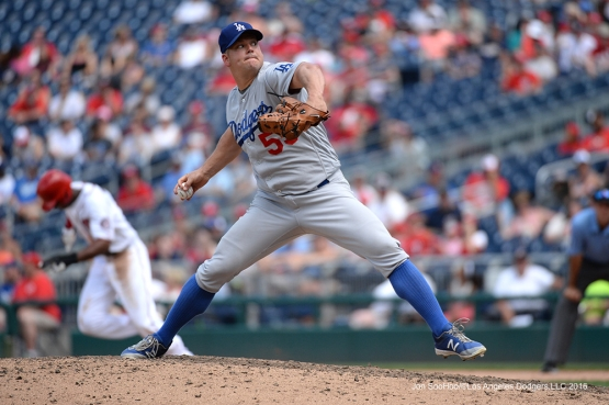 Los Angeles Dodgers Joe Blanton during game against the Washington Nationals Thursday, July 21, 2016 at Nationals Park in Washington,DC. Photo by Jon SooHoo/©Los Angeles Dodgers,LLC 2016