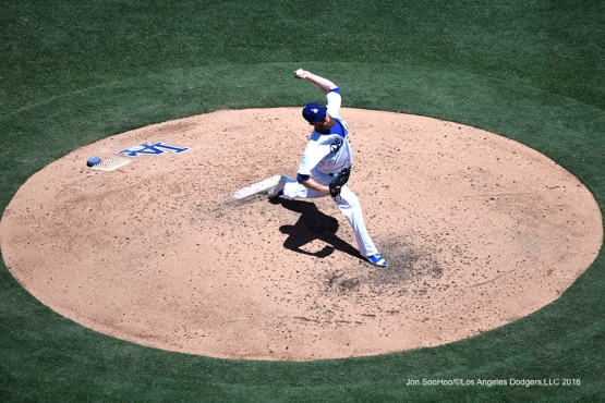 Los Angeles Dodgers J.P.Howell during game against the Tampa Bay Rays Wednesday, July 27,2016 at Dodger Stadium in Los Angeles,California. Photo by Jon SooHoo©Los Angeles Dodgers,LLC 2016