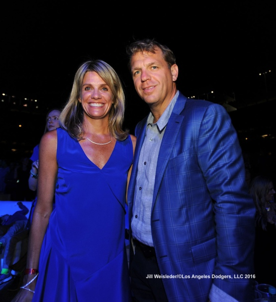 LOS ANGELES, CA - JULY 28:  The Los Angeles Dodgers Foundation 2nd Annual Blue Diamond Gala at Dodger Stadium in Los Angeles, California. Jill Weisleder/Dodgers