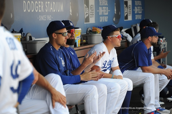 Los Angeles Dodgers during game against the Chicago Cubs Saturday, August 27 2016 at Dodger Stadium in Los Angeles,California. Photo by Jon SooHoo/©Los Angeles Dodgers,LLC 2016