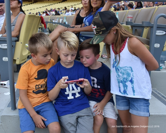 Faith and Family Day after game against the Arizona Diamondbacks Sunday, July 31,12016 at Dodger Stadium in Los Angeles,California. Photo by Jon SooHoo/©Los Angeles Dodgers,LLC 2016