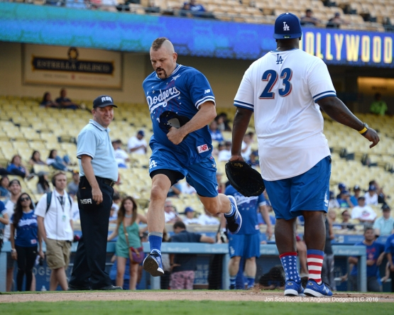 Chuck Liddell during the Hollywood Stars Game Saturday, August 27 2016 at Dodger Stadium in Los Angeles,California. Photo by Jon SooHoo/©Los Angeles Dodgers,LLC 2016