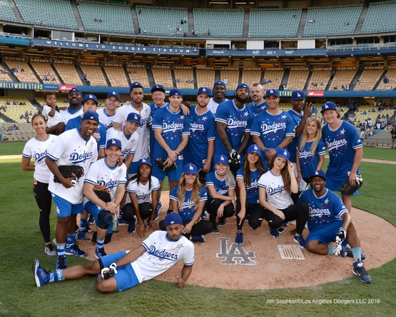 Hollywood Stars Game Saturday, August 27 2016 at Dodger Stadium in Los Angeles,California. Photo by Jon SooHoo/©Los Angeles Dodgers,LLC 2016