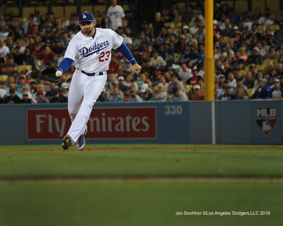 Adrian Gonzalez during game against the Boston Red Sox Friday, August 5, 2016 at Dodger Stadium in Los Angeles,California. Photo by Jon SooHoo/©Los Angeles Dodgers,LLC 2016