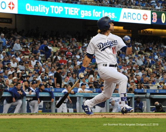 Josh Reddick during game against the Boston Red Sox Friday, August 5, 2016 at Dodger Stadium in Los Angeles,California. Photo by Jon SooHoo/©Los Angeles Dodgers,LLC 2016