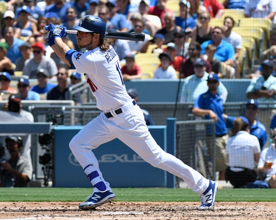 Los Angeles Dodgers Josh Reddick during game against the Boston Red Sox Saturday, August 6, 2016 at Dodger Stadium in Los Angeles,California. Photo by Jon SooHoo/©Los Angeles Dodgers,LLC 2016