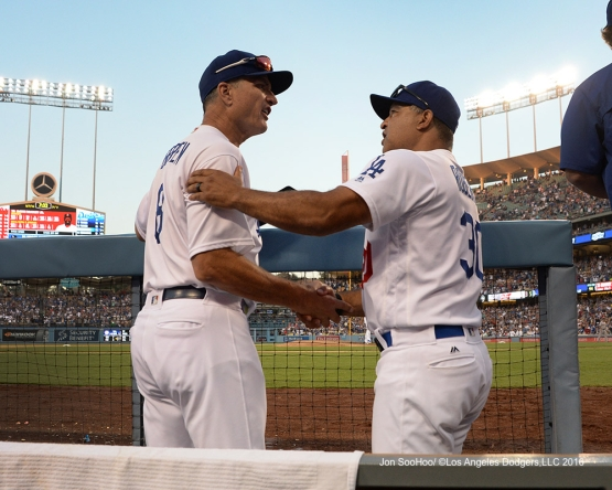 Los Angeles Dodgers beat the Boston Red Sox 8-5 Sunday, August 7, 2016 at Dodger Stadium in Los Angeles,California. Photo by Jon SooHoo/©Los Angeles Dodgers,LLC 2016