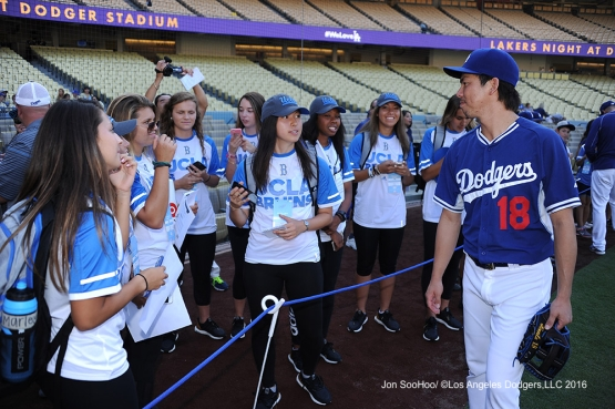 Los Angeles Dodgers during game against the Philadelphia Phillies Monday, August 8, 2016 at Dodger Stadium in Los Angeles,California. Photo by Jon SooHoo/©Los Angeles Dodgers,LLC 2016